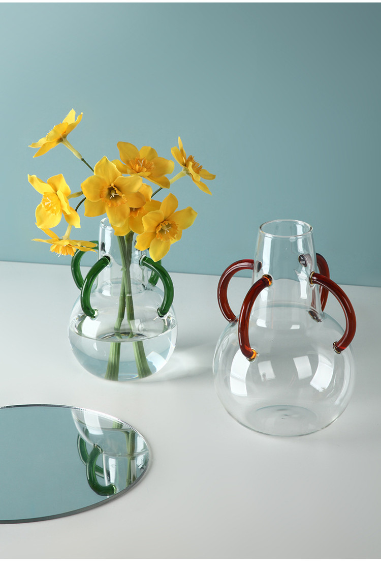 1JC21039 Small Glass Flower Vases Maker (8)
