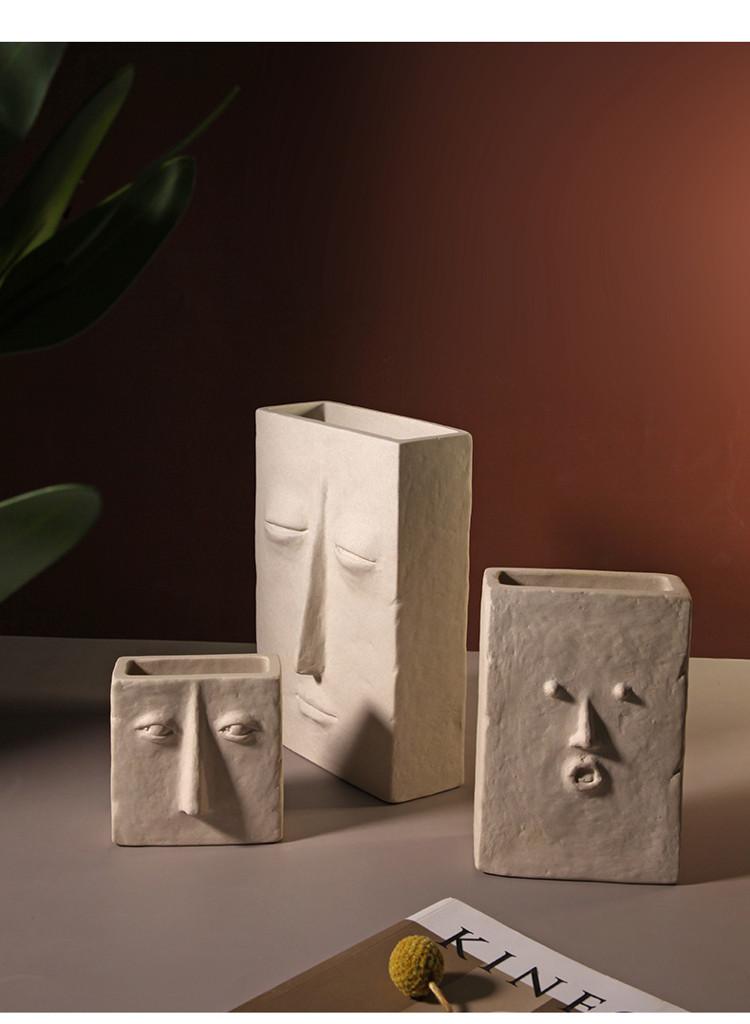 1JC21041 Ceramic Face Vase Online Sale (13)