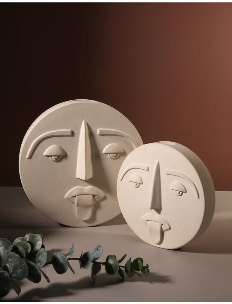 1JC21041 Ceramic Face Vase Online Sale (14)