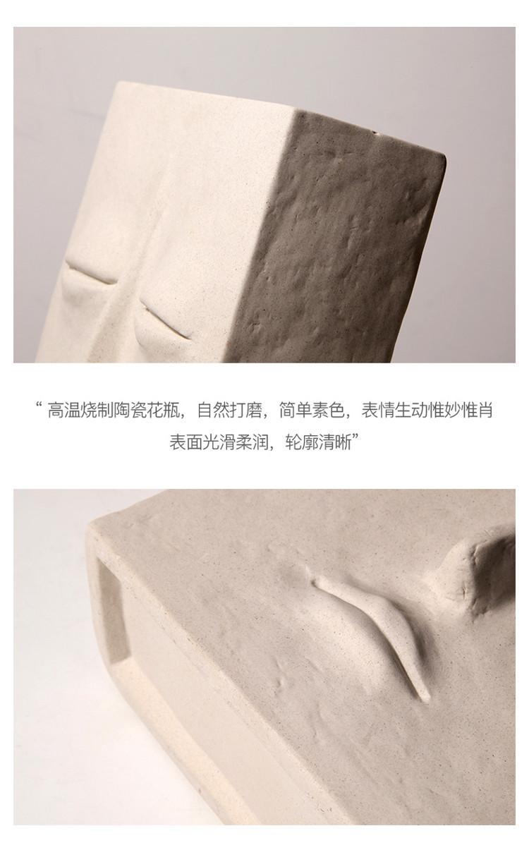 1JC21041 Ceramic Face Vase Online Sale (17)