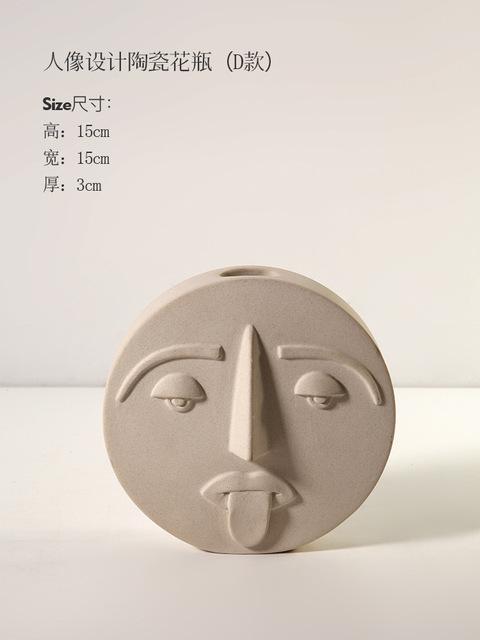 1JC21041 Ceramic Face Vase Online Sale (18)