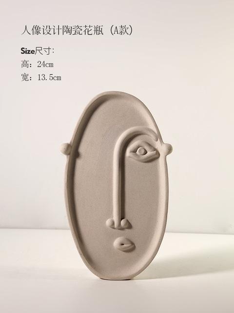 1JC21041 Ceramic Face Vase Online Sale (20)