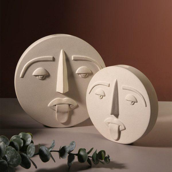 1JC21041 Ceramic Face Vase Online Sale (4)