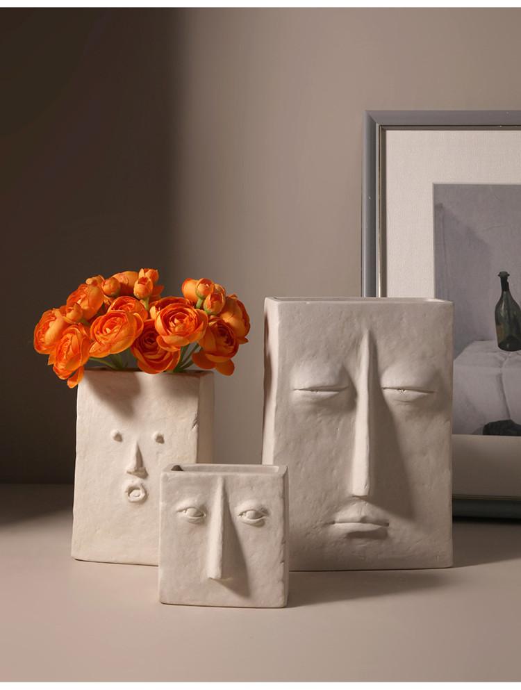 1JC21041 Ceramic Face Vase Online Sale (7)