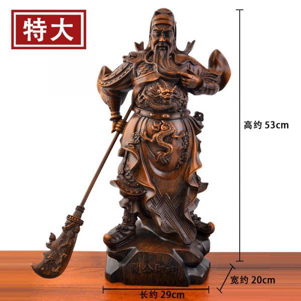 1J824001 tượng quan công guan gong statue (1)