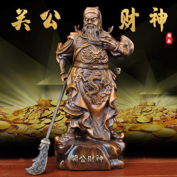1J824001 tượng quan công guan gong statue (2)