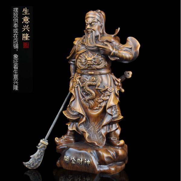1J824001 tượng quan công guan gong statue (5)