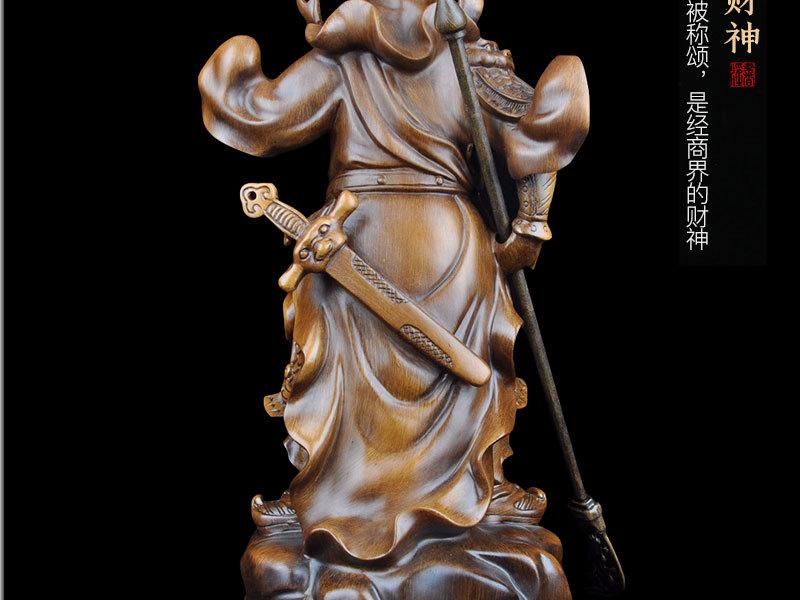 1J824001 tượng quan công guan gong statue detail (12)