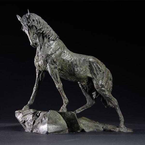 1JA13009 statue de cheval china fabricant (1)
