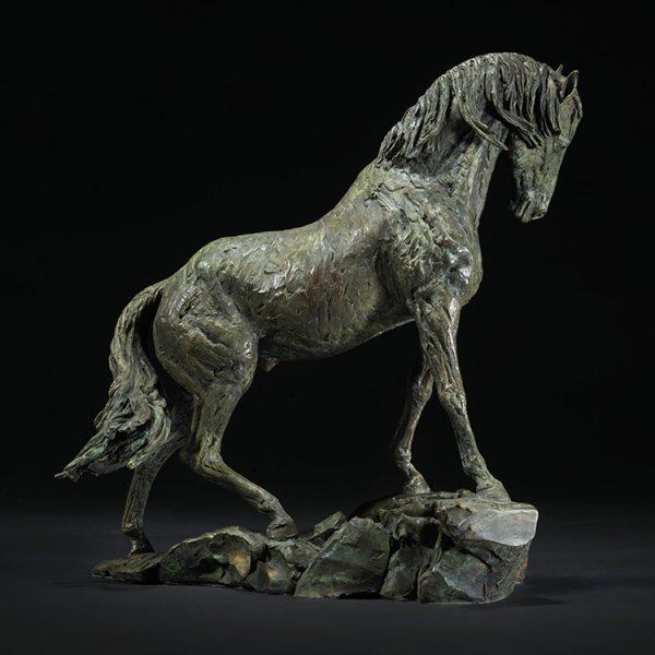1JA13009 statue de cheval china fabricant (2)