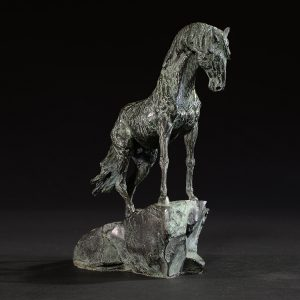 1JA13016 Outdoor Metal Horse Sculpture China Factory (3)