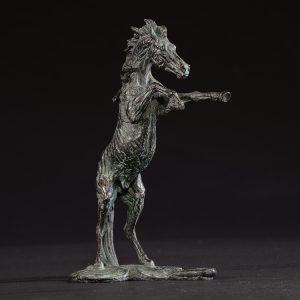 1JA13017 Arabian Horse Sculpture China Maker (1)