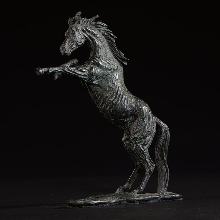 1JA13017 Arabian Horse Sculpture China Maker (3)