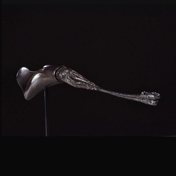 1JA16001 Squid Statue Bronze China Maker (1)
