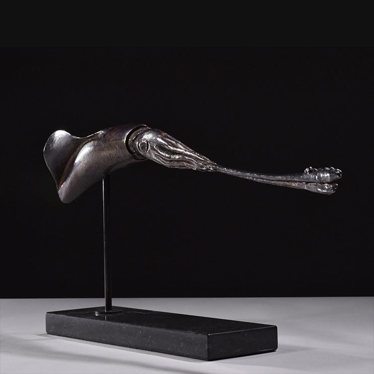 1JA16001 Squid Statue Bronze China Maker (7)