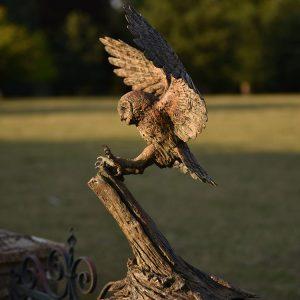 1JA16002 Owl Garden Statue China Factory (1)