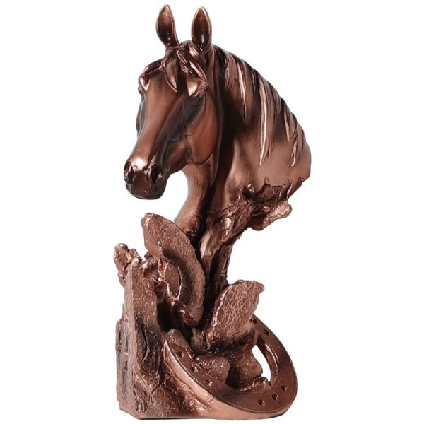1JA29002 décoration de cheval résine (1)