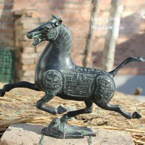 1JA29004 Cheval Bronze Antique Acheter (1)