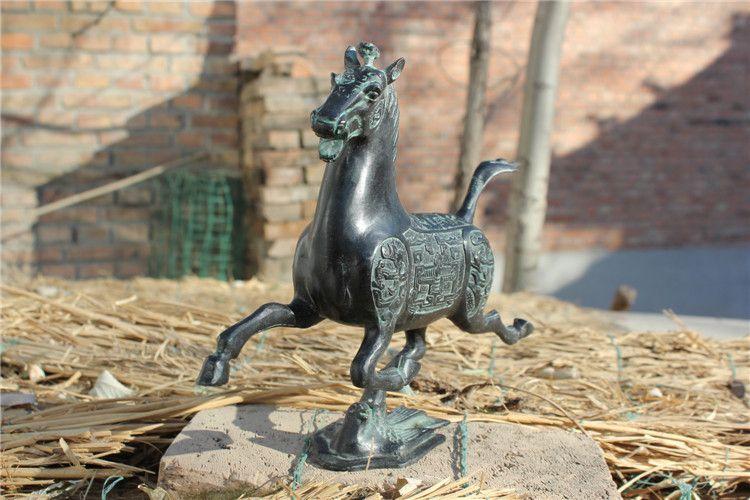 1JA29004 Cheval Bronze Antique Acheter (3)