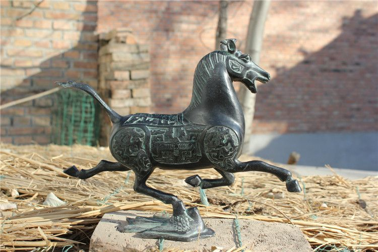 1JA29004 Cheval Bronze Antique Acheter (5)