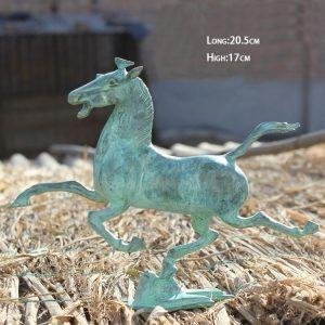 1JA29004 Cheval En Bronze Ancien Chine (1)