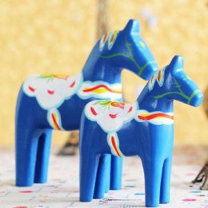 1JA29005 Dalecarlian Horse Statue Online Sale (4)