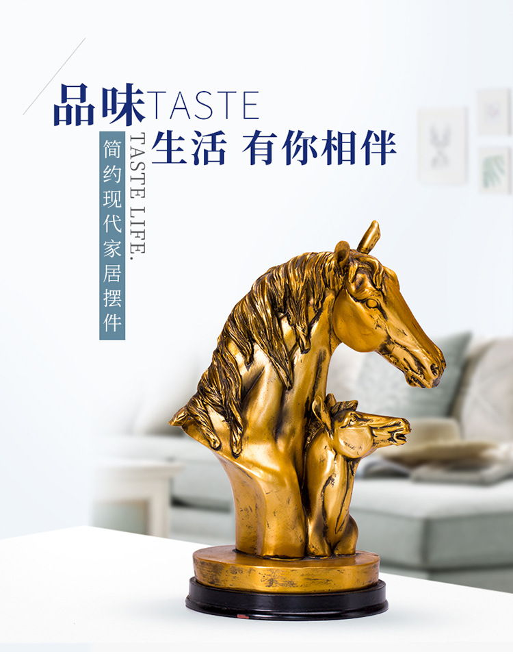 1JB03009 Horse Sculpture Home Decor Sale (1)