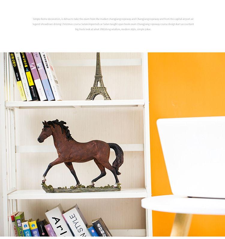 1JB03009 Horse Sculpture Home Decor Sale (10)