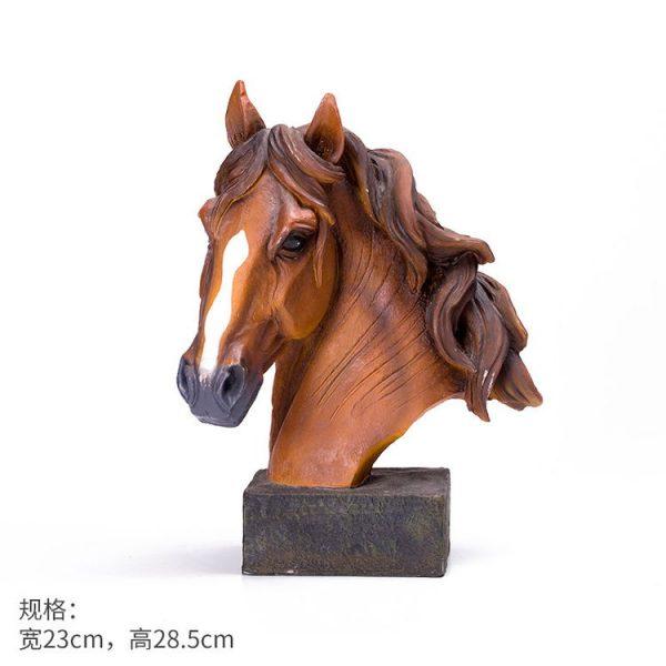 1JB03009 Horse Sculpture Home Decor Sale (14)