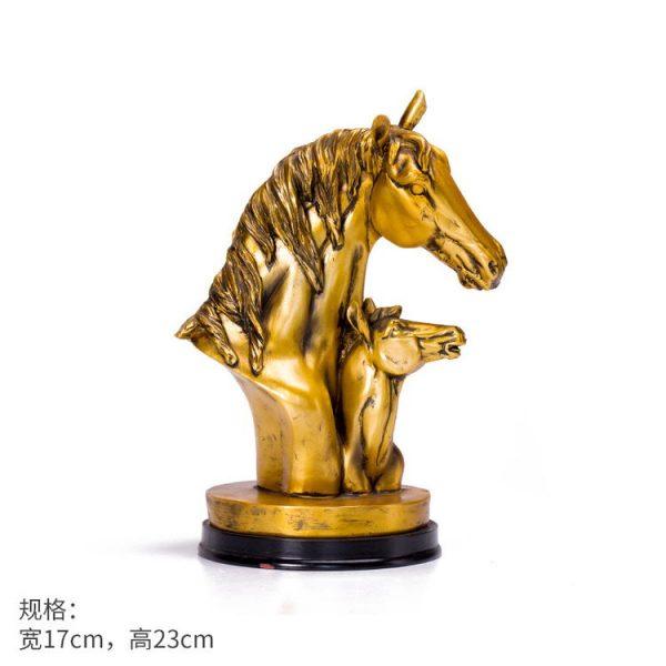 1JB03009 Horse Sculpture Home Decor Sale (17)