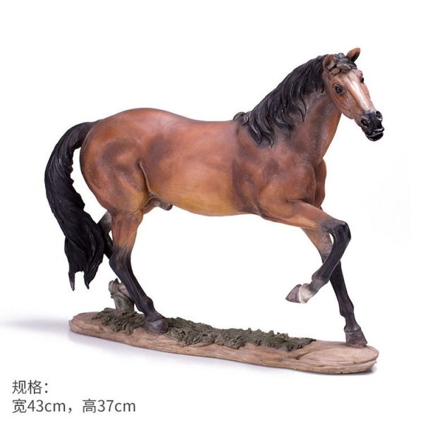 1JB03009 Horse Sculpture Home Decor Sale (18)