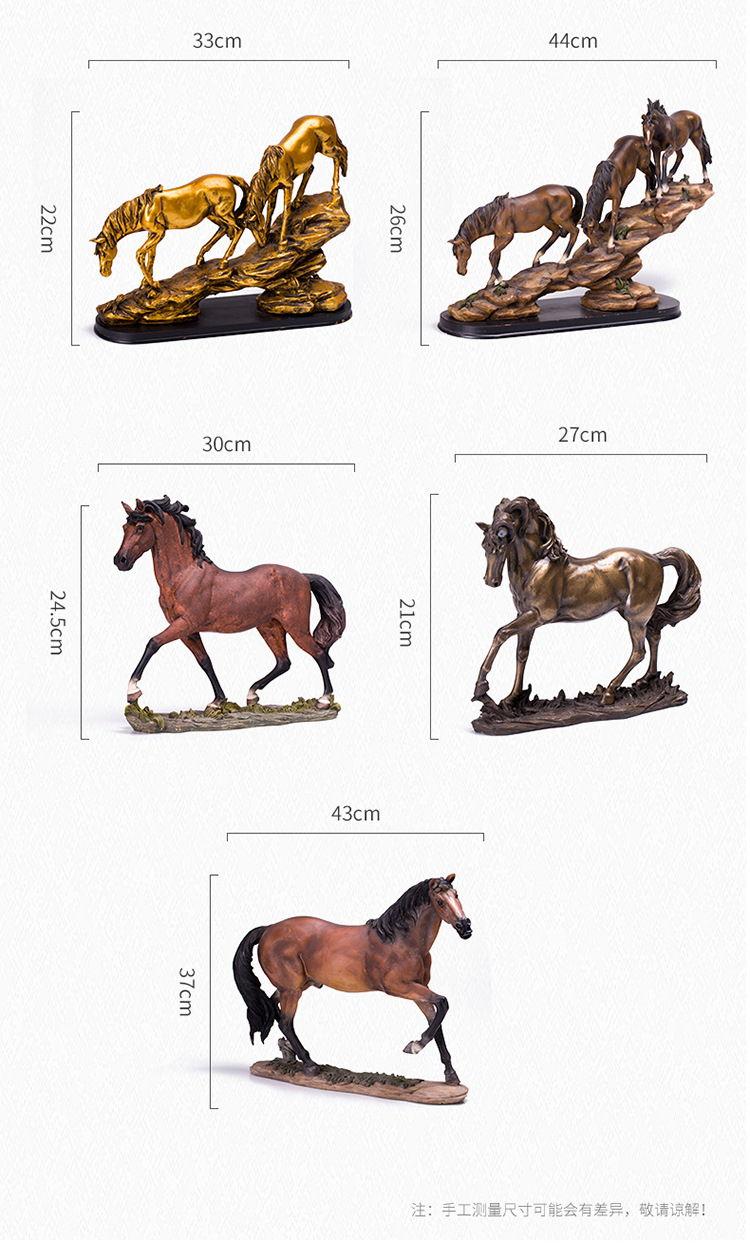 1JB03009 Horse Sculpture Home Decor Sale (5)