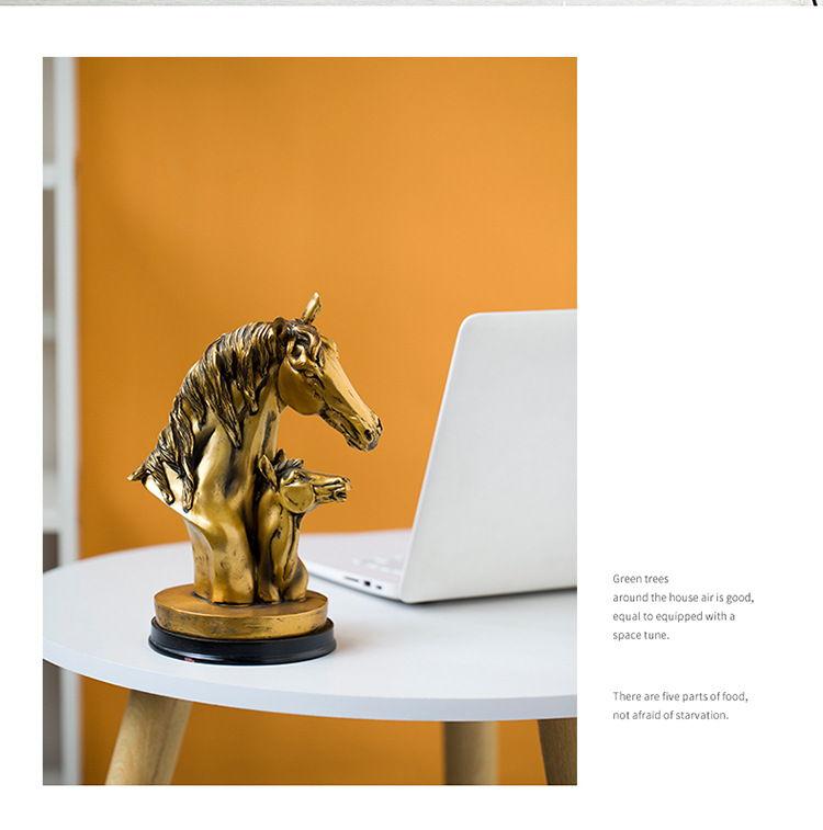 1JB03009 Horse Sculpture Home Decor Sale (7)