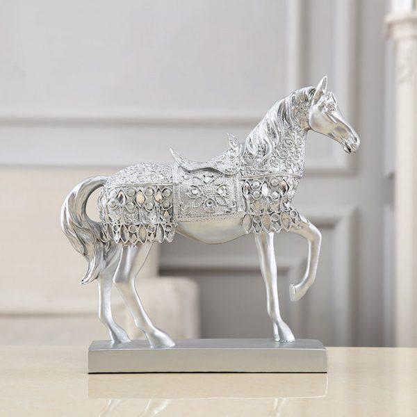 1JB03015 Horse Statue Home Decor Online Sale (1)