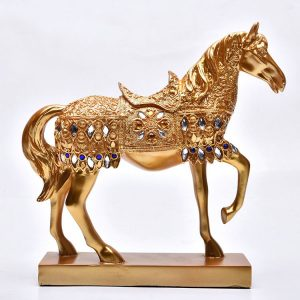 1JB03015 Horse Statue Home Decor Online Sale (15)