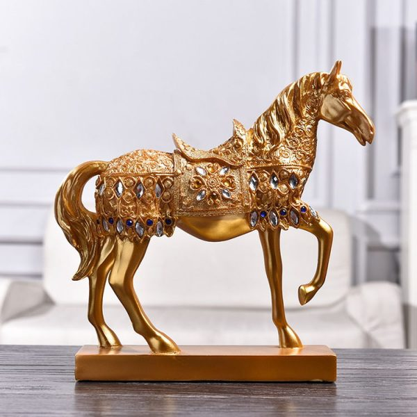 1JB03015 Horse Statue Home Decor Online Sale (3)