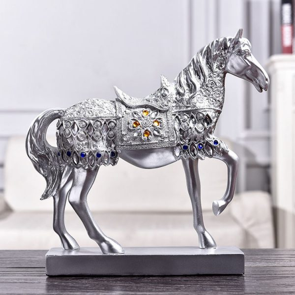 1JB03015 Horse Statue Home Decor Online Sale (4)