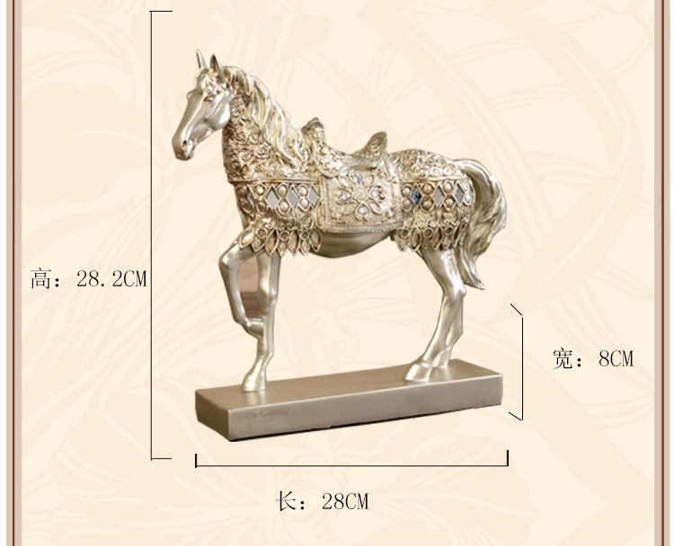 1JB03015 Horse Statue Home Decor Online Sale (9)