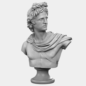 1I731004 Apollo Bust Statue Statua Di Apollo (2)