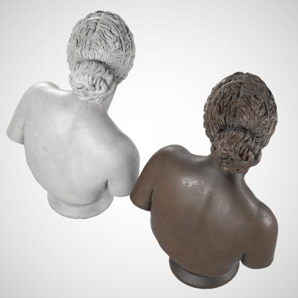 1I731004 Venus Callipyge Statue Aphrodite Kallipygos Bust (2)