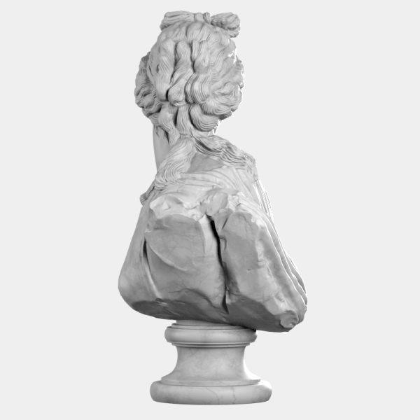 1I731004 Venus Callipyge Statue Aphrodite Kallipygos Bust (6)