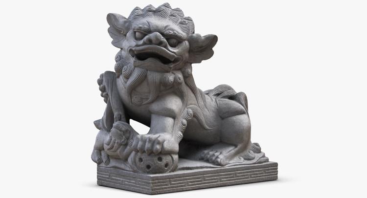 1I801004 Lucky Dog Statue China Maker (2)