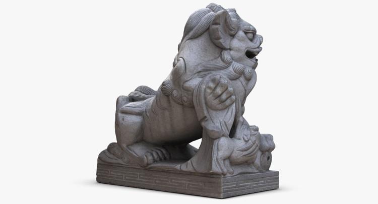 1I801004 Lucky Dog Statue China Maker (4)