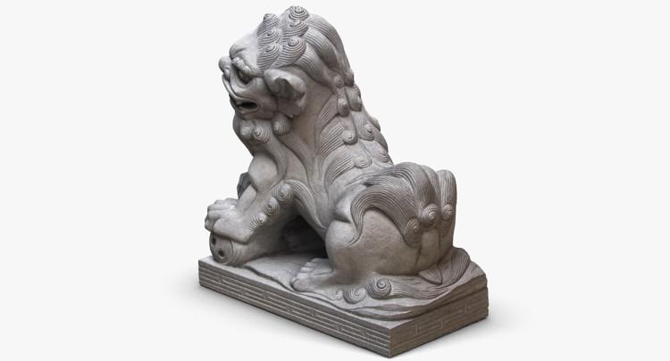 1I801004 Lucky Dog Statue China Maker (5)
