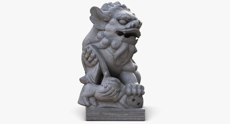 1I801004 Lucky Dog Statue China Maker (9)
