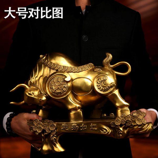 1JB18018 Feng Shui OX Statue Sale (10)