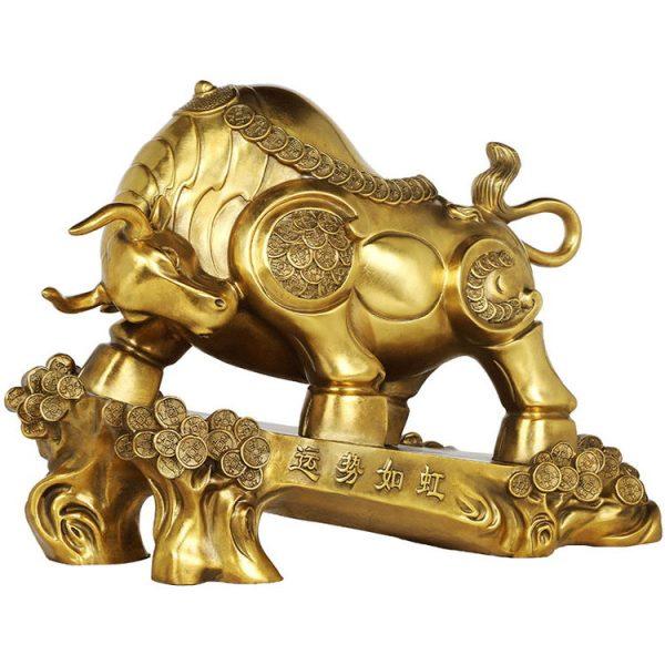 1JB18018 Feng Shui OX Statue Sale (11)