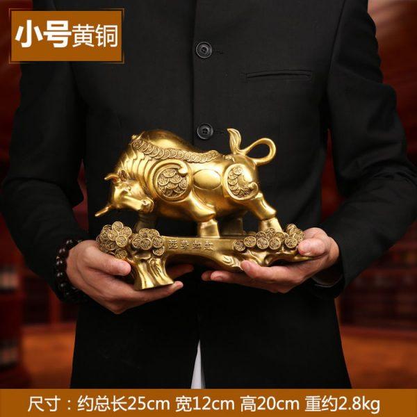 1JB18018 Feng Shui OX Statue Sale (12)