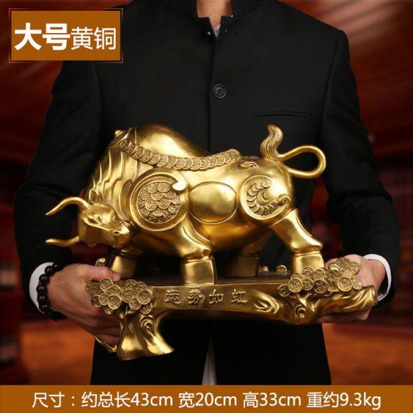 1JB18018 Feng Shui OX Statue Sale (13)