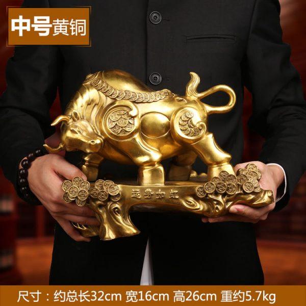 1JB18018 Feng Shui OX Statue Sale (14)